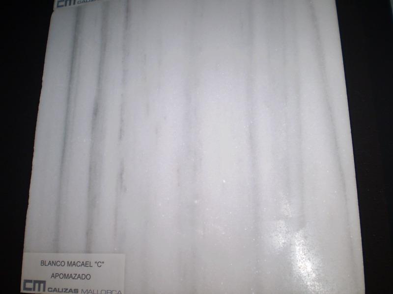 Blanco Macael C apomazado