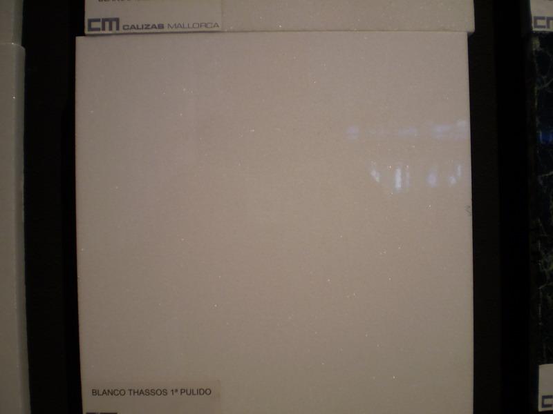 Blanco Thassos 1a pulido