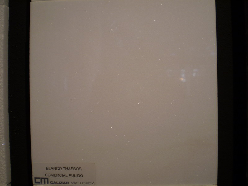 Blanco Thassos Comercial pulido