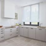 Encimera cocina de Sinai Pearl abujardado y envejecido
