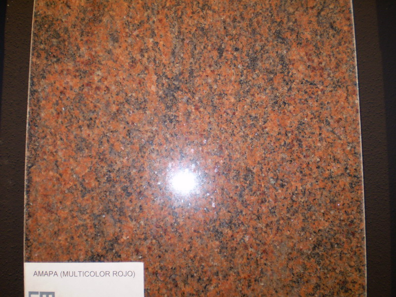 Calizas mallorca s a amapa multicolor rojo for Marmol veta marron