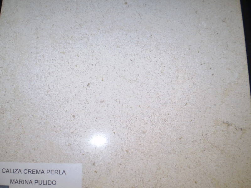 Caliza Crema Perla Marina pulido