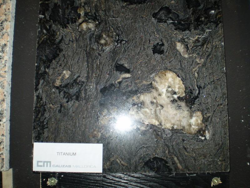 Titanium pulido